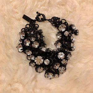 Madewell Black Sparkle Bracelet
